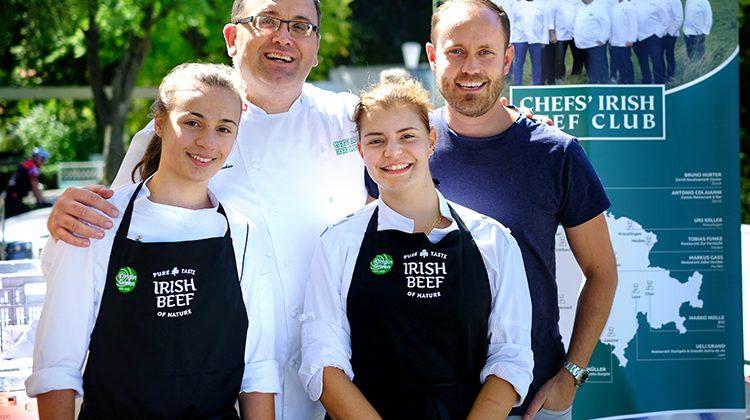 Irish Beef am Fernsicht-Markt in Heiden.