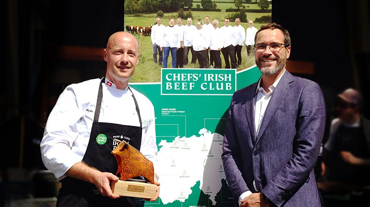 Marko Molle neu im Chefs' Irish Beef Club.