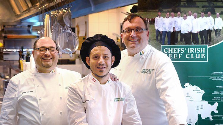 Kitchenparty im Schloss Binningen mit Irish Beef
