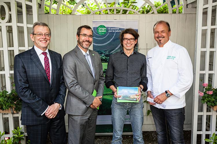 Christian Franck gewinnt «Irish Beef Blogger Contest 2016»